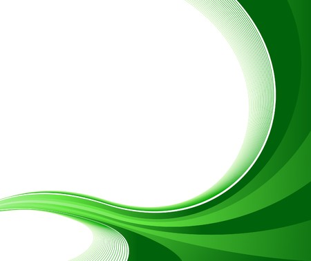 Certificate Green Background Illustration Royalty Free