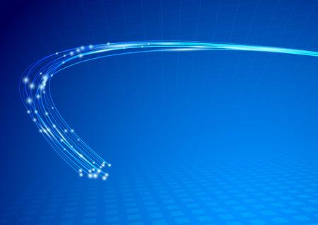 Photo pour Cable impulse abstract background template. - image libre de droit
