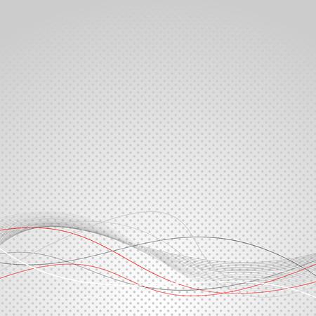 Illustration pour Abstract wave line modern dotted background. Vector illustration - image libre de droit
