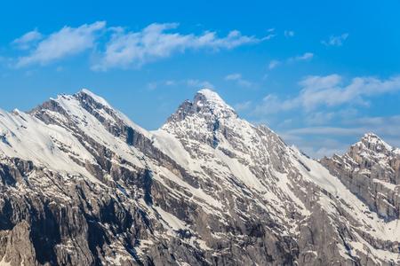 Swiss Alps Jungfrau Mountain Landscape in Switzerland