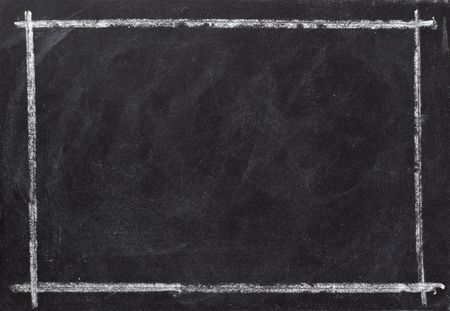 closeup of chalkboard