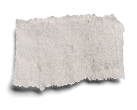 Photo for collection of various pieces of news paper on white background. each one is shot separately - Royalty Free Image