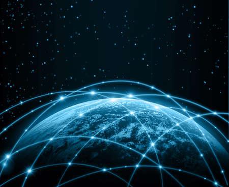 Photo pour Internet Concept of global business from concepts series - image libre de droit