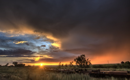 Prairie Sunset Saskatchewan Canada Parkbeg colors beauty