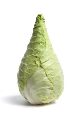 Pointed Cabbage, also known as the Hispi or Sweetheart cabbage