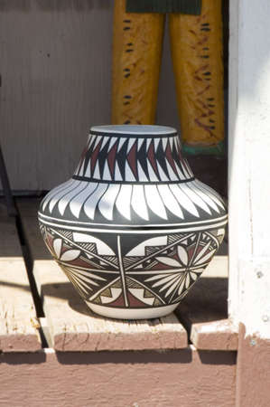 Traditional Native-American Pottery in Arizona, USA