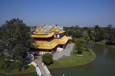 A chinese palace given to King Rama V by Chinese merchants