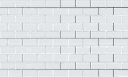 Illustration pour ceramic brick tile wall - image libre de droit