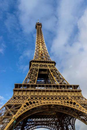 Photo pour Landmark and street photo of Paris journey - image libre de droit