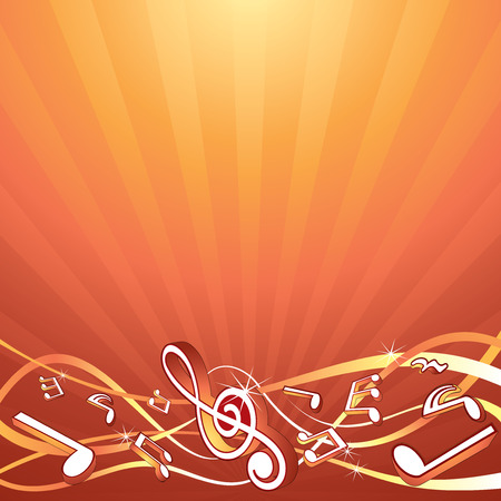 Music backdrop template