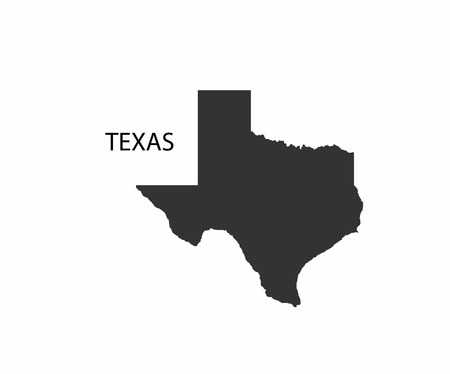 Ilustración de Concept map of Texas, vector design Illustration. - Imagen libre de derechos