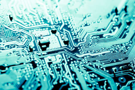 Photo pour Abstract,close up of Mainboard Electronic background. - image libre de droit