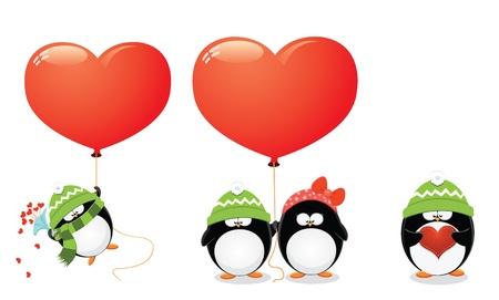 Penguin Love Set