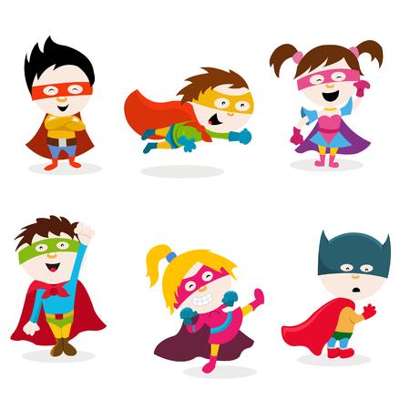 Ilustración de Super Kids - Imagen libre de derechos