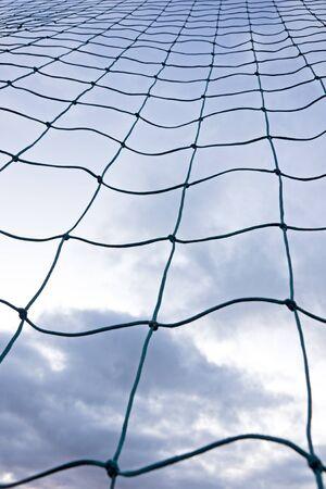 Soccer goal net.