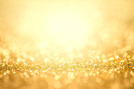 Photo pour Abstract the gold light for holidays background - image libre de droit
