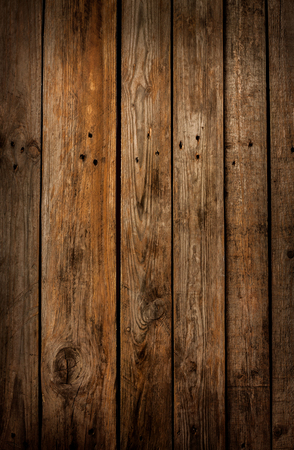 Photo pour Old vintage planked wood board - rustic or rural background with free text space - image libre de droit