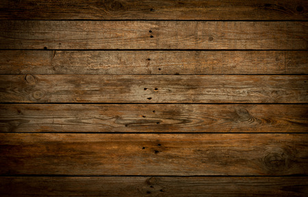 Photo for Rustic wooden background. Old vintage real (natural) planked wood. Free text space. - Royalty Free Image