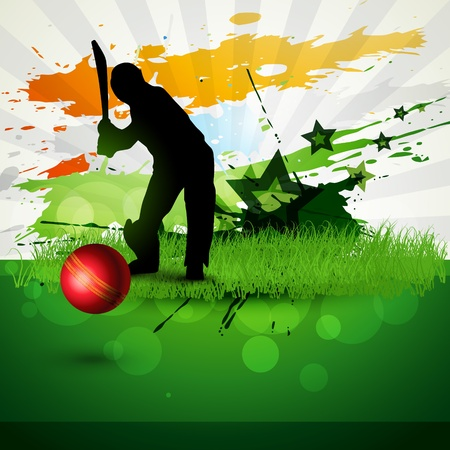 abstract cricket background game artwork