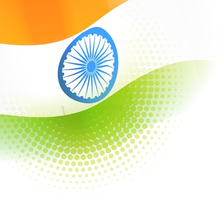 indian flag vector background design