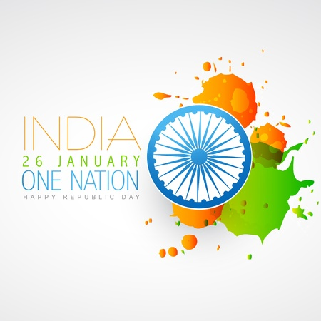 indian flag vector creative design