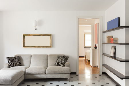 Nice apartment, interior, comfortable living room