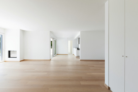 Photo for Interior, empty living room of a modern apartment - Royalty Free Image