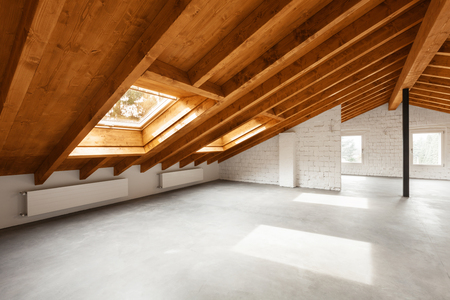 Photo pour Modern loft interior, nobody inside - image libre de droit