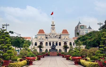Ho Chi Minh City Hall or Hotel de Ville de Saigon, Vietnam