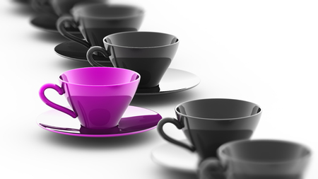 Foto de Exception. 3D Illustration. - Imagen libre de derechos