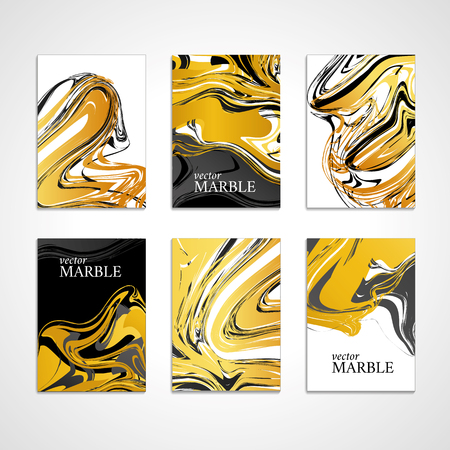Marble texture banner. Abstract vector pattern for banner. Marble gold background, banners. Gold marble. Gold background. Banners for logo, web, card, vip exclusive certificate, gift luxury voucher.