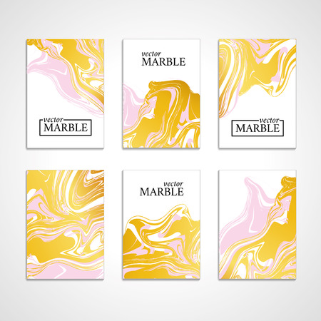 Marble texture banner. Abstract vector pattern for banner.