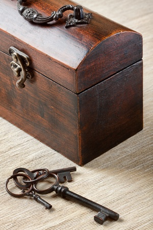 The old trunk with the key