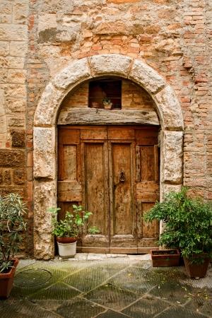 old doors of tuscany italy