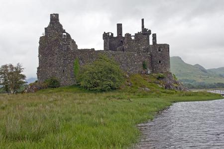 Schottland, Kilchurn Castle am Loch Awe