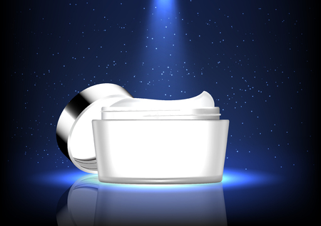 Beauty product image illustration