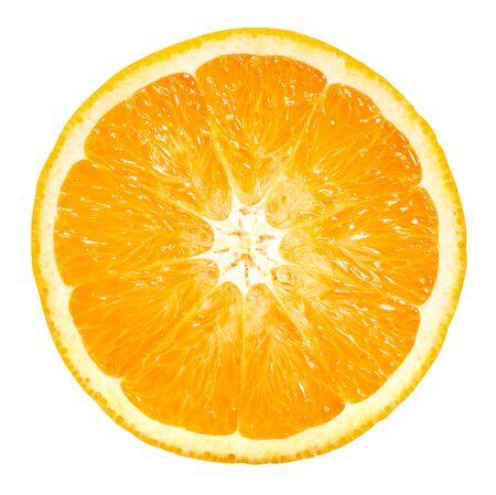 Photo pour Orange fruits isolated on white - image libre de droit