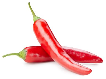 Photo for chili pepper isolated on white - Royalty Free Image