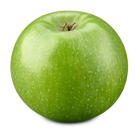 Photo for Green apples isolated on white background. - Royalty Free Image