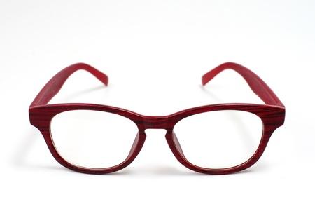 Photo pour Glasses isolated on white background - image libre de droit