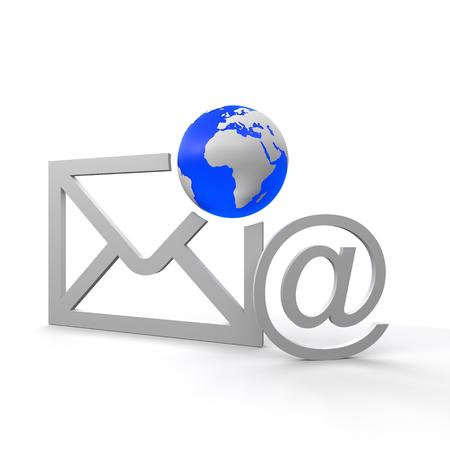 Photo pour email - image libre de droit