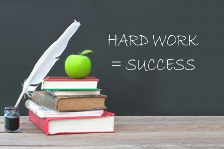 Hard work is success