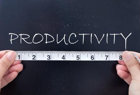 Measuring productivity