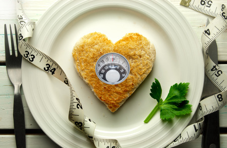 Diet weight loss concept