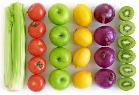 Foto für Fruits and vegetables background - Lizenzfreies Bild