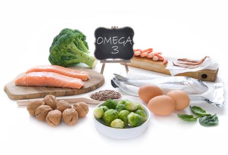 Foto de Omega 3 rich foods - Imagen libre de derechos