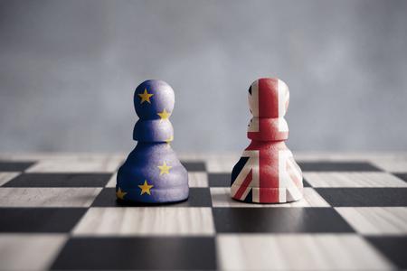 Photo pour Brexit strategy concept - image libre de droit