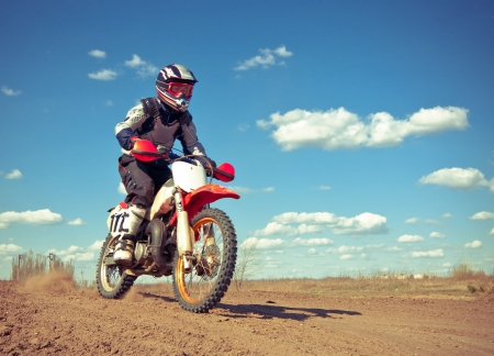 Spring motocross competition