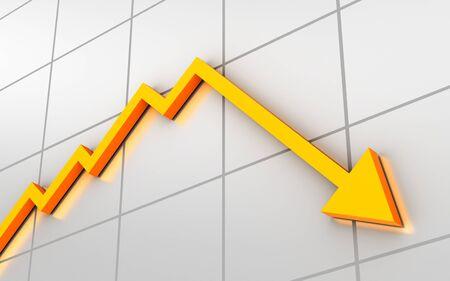 Business graph. Conceptual image