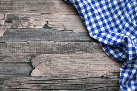 Photo for checkered fabric blue - Royalty Free Image